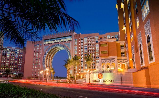 Ibn Battuta Gate hotel Outside